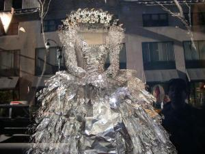 tinfoil dress