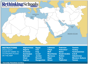 Fun With Maps – How Well Do You Know the Middle East ...