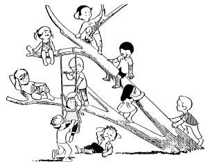 Treehouse Gang Circa 1955