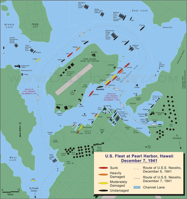 Pearl Harbor Map copy