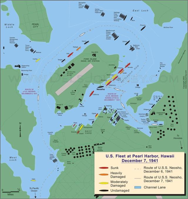 Pearl Harbor Map copy