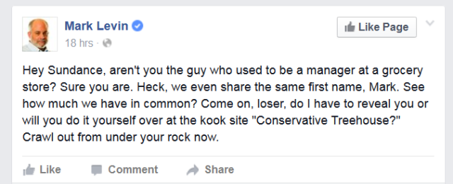 LevinFacebook
