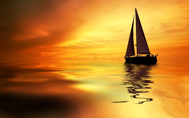 Sailboat-Sunrise