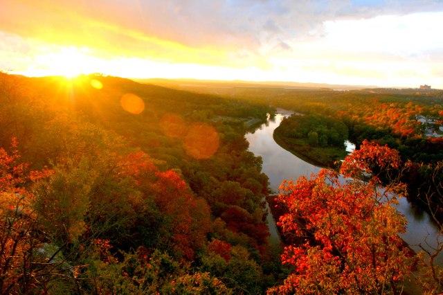 tablerock-fall-sunset
