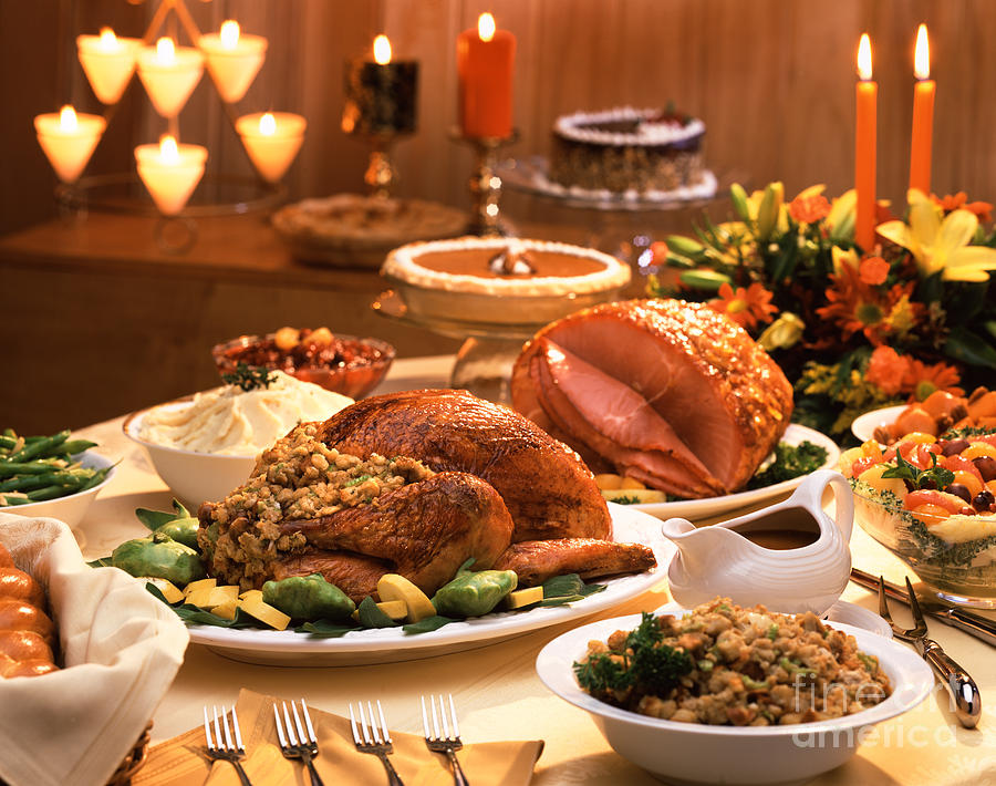 Image result for thanksgiving feast
