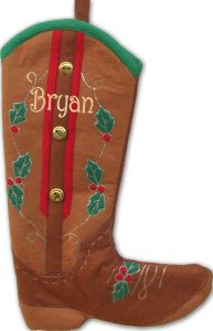cowboy-boot-personalized-stockings
