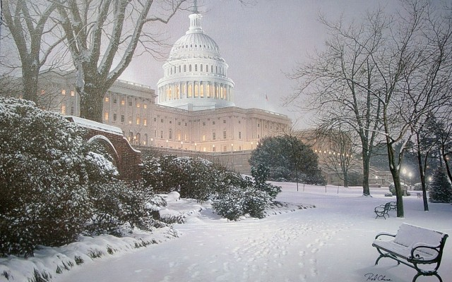 washingtonin-winter-time