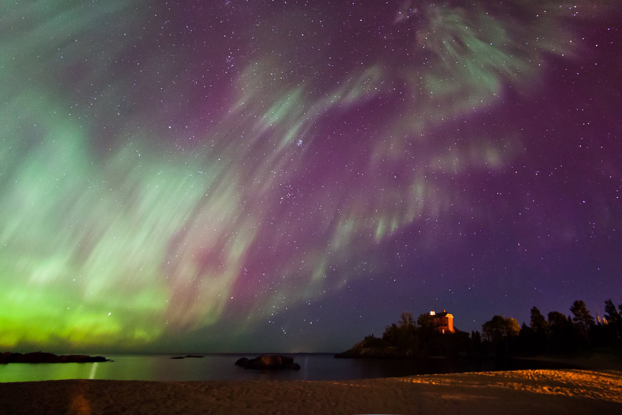 Upper Lights Peninsula Northern