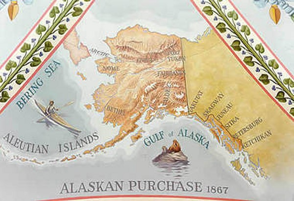the purchase of alaska Wednesday is the 150th anniversary of the us taking possesion of alaska.