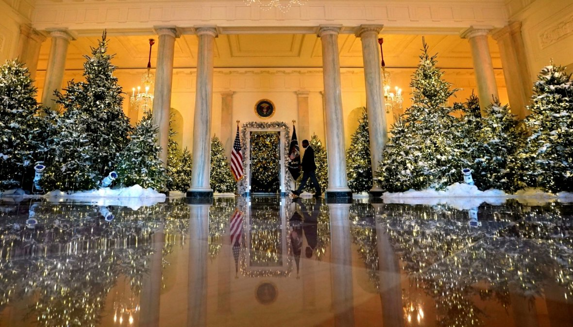 First Look Christmas At The White House Stella 39 S Place