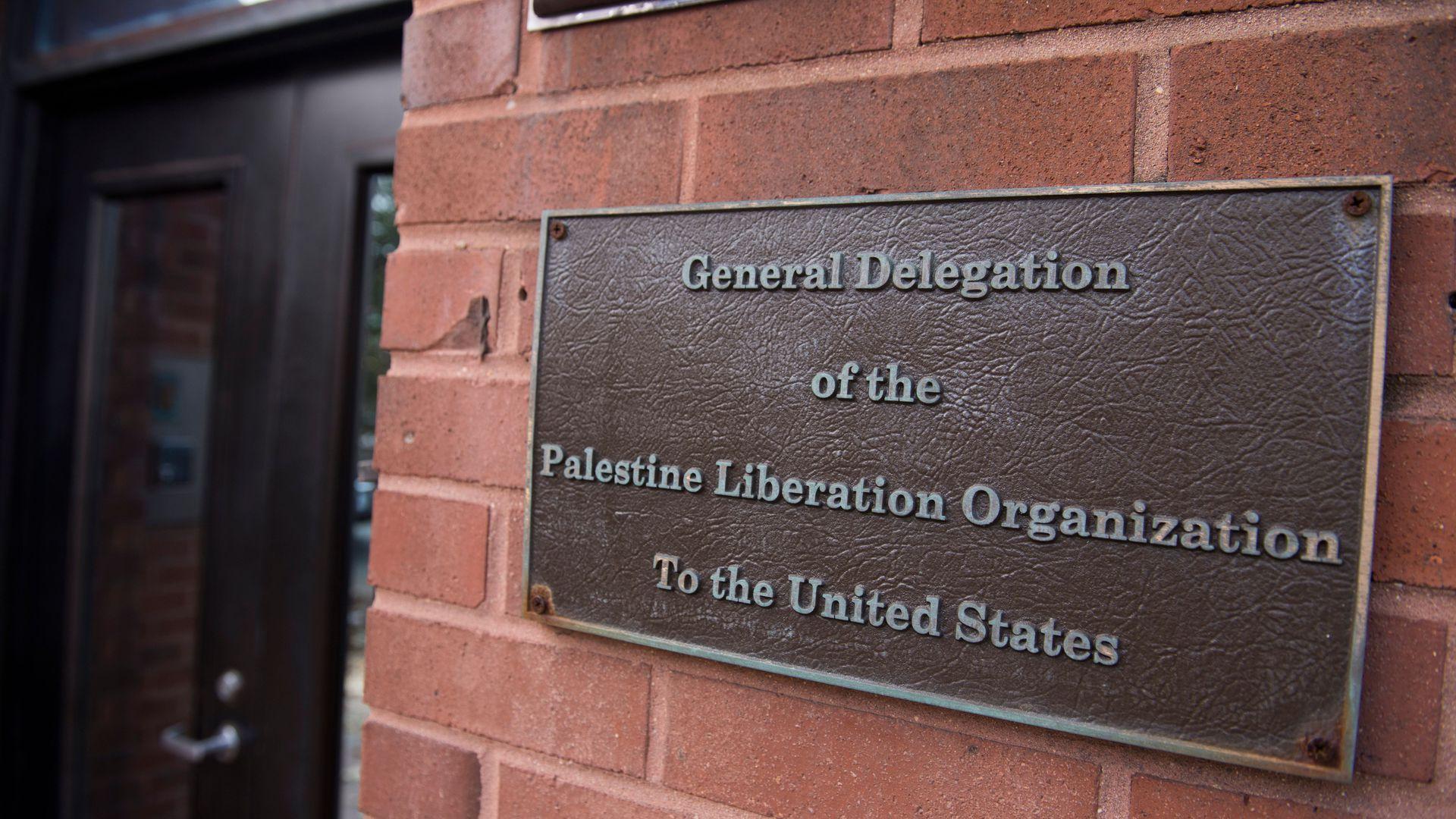 Plooffices Trump Administration Closing Plo Mission Washington